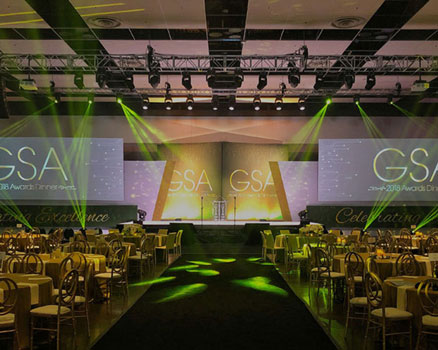 GSA Event by Drape Kings, Rental & Staging Company