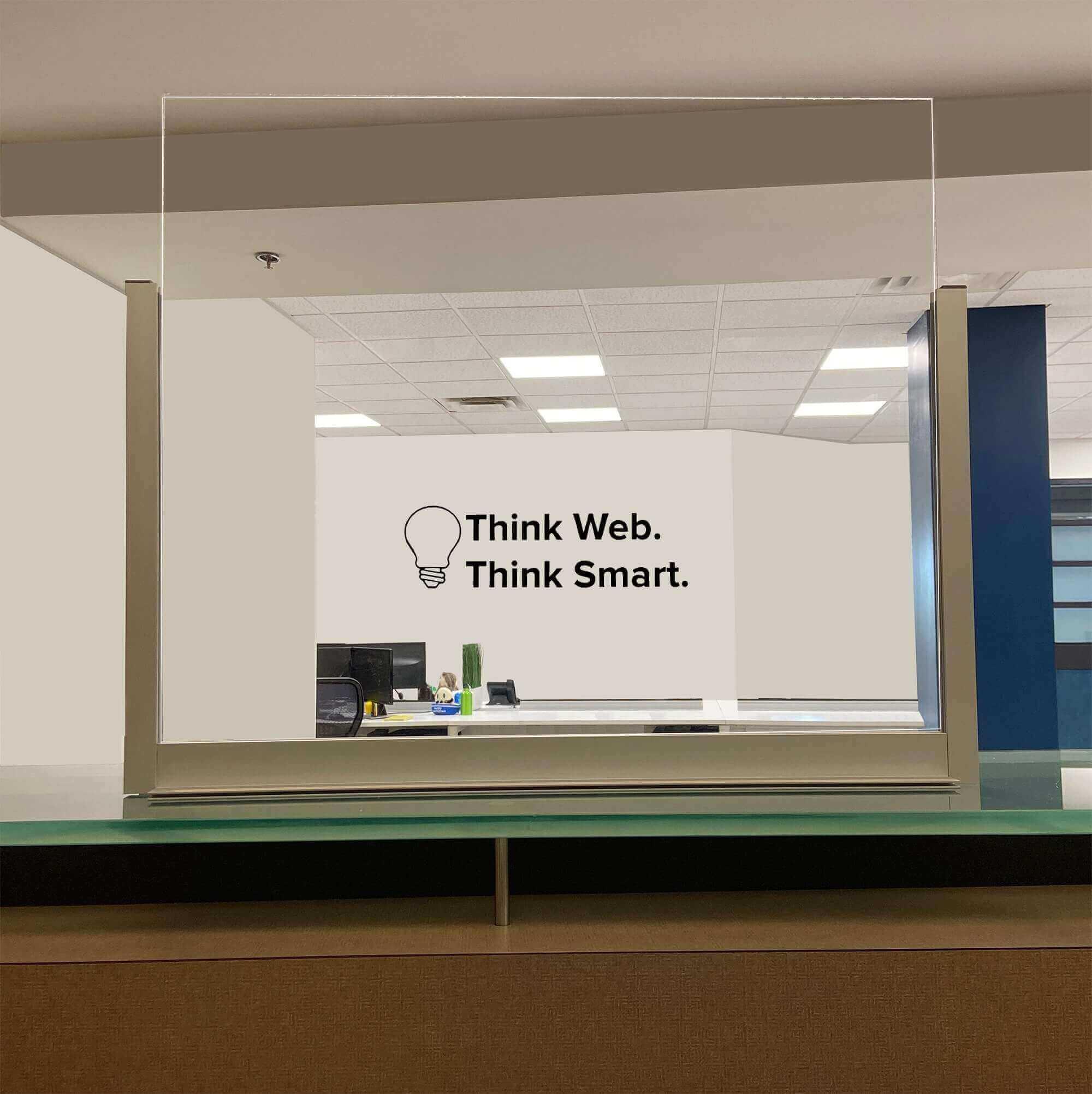 Plexiglass Room Divider