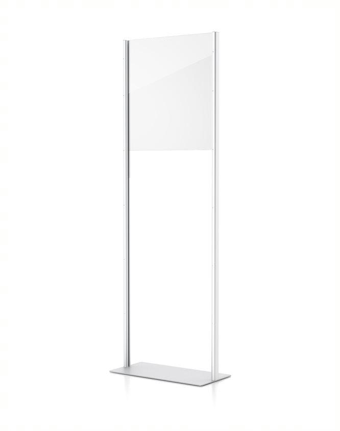 standing floor divider